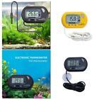 Digital LCD Thermometer Aquarium Fish Tank Vivarium-Water Marine Stick On Probe