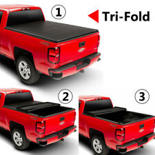 For 2007-15 Chevy/GMC Silverado/Sierra 6.6FT Bed Soft Tri-fold Tonneau Cover US