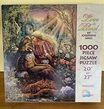 Rare Vtg Josephine Wall Love Is Blind 1000 Pc Puzzle Suns Out