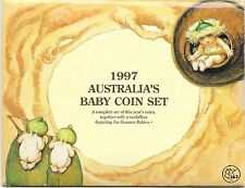 1997 AUSTRALIAN   BABY SET OF UNCIRCULATED COINS