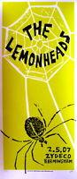 The Lemonheads Concert Poster Print Mafia S/N Birmingham 2007