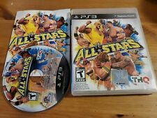 WWE All Stars Tested w/Manual Wrestling PS3 Game Sony PlayStation 3