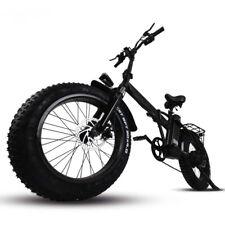Electric bike 750W 48V 15Ah fold up travel bike beach cruiser Booster bicycle
