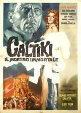 Caltiki Immortal Monster Poster 02 A2 Box Canvas Print