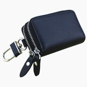 Key Holder Genuine Cow Leather Bag Wallet Fashion Multi Function Car Key Case.c