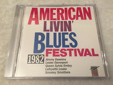 """AMERICAN LIVIN' BLUES FESTIVAL 1982"":Jimmy Dawkins+:1988 CD FRANCE:EPM FDC 5513"