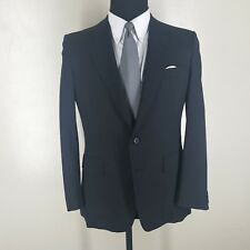 CHESTER BARRIE VTG SPORT COAT MADE IN ENGLAND WOOL 2 BTN.SIDE VENTS  40 SHORT