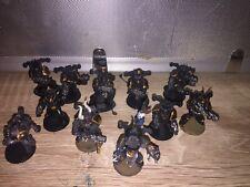 warhammer 40k chaos space marines painted 11 Models Gamesworkshop