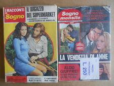 BUSTA anni 70 di 2 Fotoromanzi I Racconti di Sogno 89 + Sogno Mensile 106  [C94]