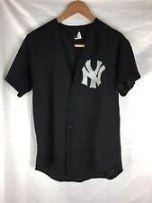New York Yankees Majestic Black Baseball Jersey MLB  Size M  (READ DESCRIPTION)