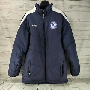CHELSEA COAT SAMSUNG OFFICIAL UMBRO SIZE SMALL GOOD CONDITION