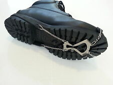 Grizzlar IceHiker T Large Ice Cleat Shoe Boot Tread Grip Crampon Chain