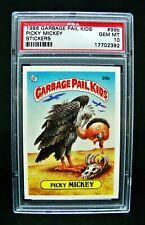 GARBAGE PAIL KIDS 1986 3rd Series #99b Picky Mickey - OS3 Graded PSA 10 GEM MINT