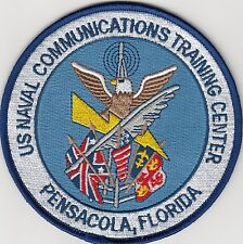 US NAVY PATCH - NAVAL COMMUNICATIONS TRAINING CENTER, PENSACOLA, FLORIDA