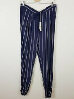 [ COUNTRY ROAD ] Womens Pinstripe Print Pants NEW + TAGS RRP $129  | Size 12