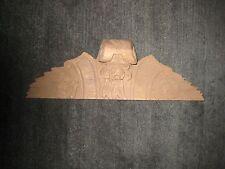 Carved Clock Case Hood in Unfinished Walnut-Part for Vintage/Antique Clock Case