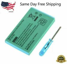 New Rechargeable Battery for Nintendo Game Boy Advance SP Systems + Screwdriver
