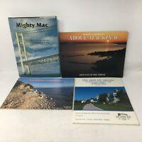 Lot of FOUR (4) Books on MACKINAC ISLAND / MACKINAC BRIDGE