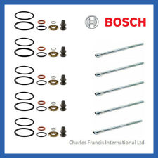 5 x GENUINE BOSCH INJECTOR SEAL KIT + BOLTS FOR PD INJECTOR - SKODA FABIA