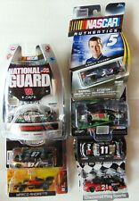 8 - Nascar Diecast - Andretti, Hamlin,Dale, Kahne, Pit Stop, Checkered Flag