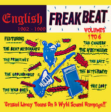 Various - English Freakbeat 1962-1969, Vol 1-6. 6CD Box Set + Sealed