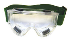 FULL CLEAR ANT-FOG SAFETY GOGGLES. LARGE,IDEAL FOR AIRSOFT