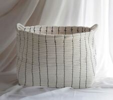 Cotton Rope Fabric Basket, Container, 5 Days Express Shipping