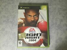 FIGHT NIGHT 2004 - BOXE - MICROSOFT XBOX ORIGINALE e 360 - PAL ITALIANO COMPLETO