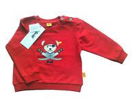 Sweat Shirt Gr.62 Steiff NEU rot Pirat pullover baby