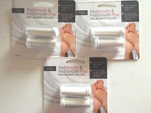 Emjoi Pedismooth replacenent rollers 3 pack
