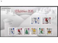 2016 GB QEII COMMEMORATIVE STAMP PRESENTATION PACK NO 534 CHRISTMAS ISSUE MNH