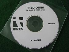 FRED ONES.. Phobia Of Doors  (5 Track CDR Promo Single)