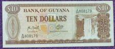 Guyana $10 uncirculate bank note