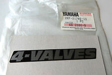 Yamaha Aufkleber Seitendeckel links XT600 4-valves sticker decal side cover LH