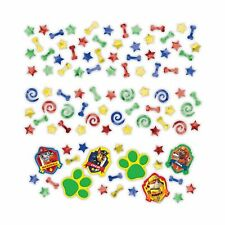 3 X Assorted Bags Paw Patrol Birthday Party Table Confetti Sprinkles Decoration