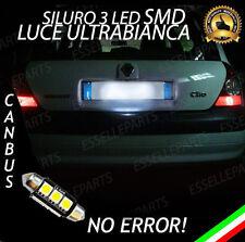 LUCE TARGA A LED RENAULT CLIO 2 II SILURO C5W CANBUS NO ERROR