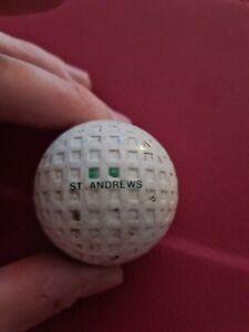 Rare St Andrews Gutty Golf Ball