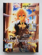 Anime DVD Violet Evergarden Vol. 1-14 End ENG SUB All Region FREE SHIPPING