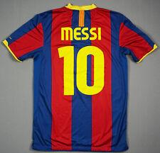 LEO MESSI FC BARCELONA season 2010 2011 L WOMEN Home Jersey Camiseta