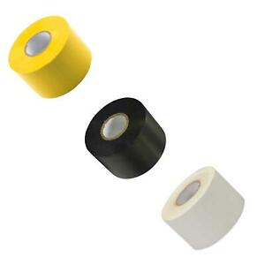 """PVC Electrical Insulating Tape Flame Retardent Coloured Insulation Tapes 2"""" 50mm"""