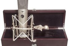 Warm Audio WA87 U87 Condenser Mic 9 patterns w/shockmount, wood box 638142859288
