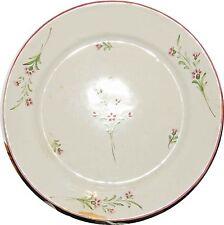 Assiette Faïence de SCEAUX, 18°siècle - manufacture de la CHAPELLE VERS 1750-70