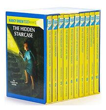 Nancy Drew Collection 10 Hardcover Books Gift Box Set Carolyn Keene 1-10 Volume