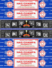 30g Super Hit Incense & 75g Nag Champa 7 Boxes 15 Grams per Box