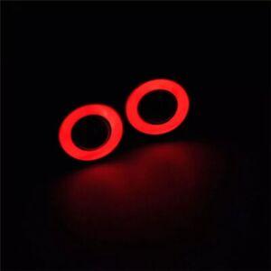 RC LED Angel/Halo Eyes Lights (RED) Tamiya Traxxas HPI Drift Crawler Truck UK