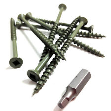 5000 x 75mm DECKING SCREWS - HIGH PERFORMANCE ROBERTSON SQUARE DRIVE, GASH POINT