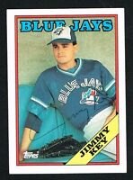Jimmy Key #682 signed autograph auto 1988 Topps Baseball Trading Card
