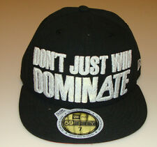 NBA ASG Basketball 8 Dont Just Win Dominate New Era Cap Hat Glow in the Dark