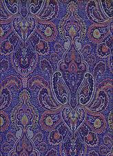 Brokatstoff Jacquardstoff Paisley Paisleystoff Brokat royal blau Oriental Mosaik