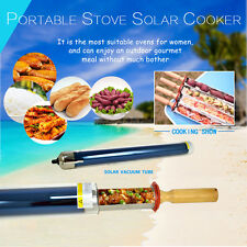 Top Solar Stove Cooker Oven No Fuel Cooking Camping Outdoor Bbq Grill